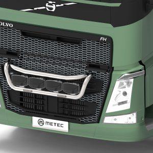 RVS Metec frontbeugel Lampenbeugel Volvo FH13-FM14