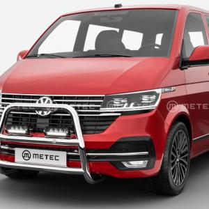 Volkswagen T6 RVS frontbar