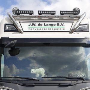 Lampenbeugel Scania S Type incl. 3 Witte LED's Finland Scandinavië.