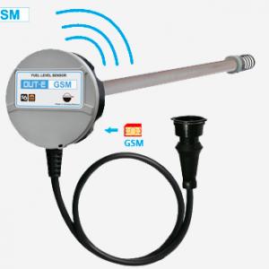 Niveaumeter met GSM/GPS Tracker